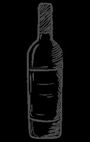 disegno bottiglia di vino